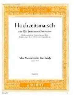HOCHZEITSMARSCH OP 61/9 (AUS SOMMERNACHTSTRAUM) - arrangiert für Klavier [Noten / Sheetmusic] Komponist: MENDELSSOHN BARTHOLDY FELIX