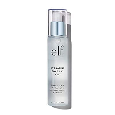 e.l.f, Hydrating Coconut Mist, Lightweight, Scented, Versatile, Refreshes, Soothes, Invigorates, Infused with Vitamin E, 2.7 Fl Oz from e.l.f. Cosmetics, Inc.