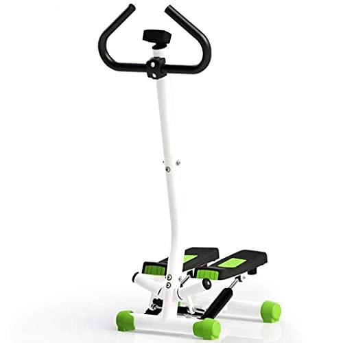 PAKUES-QO Twist Stepper con Monitor LCD, Ajustable, Aeróbico, para Entrenamiento Corporal, Máquina De Fitness, Gimnasio En Casa
