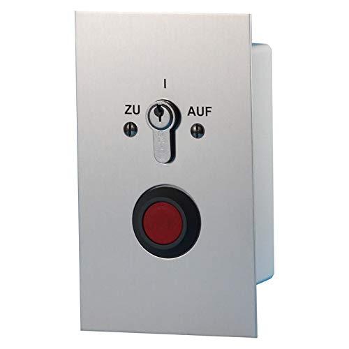 BAUER - Schlüsselschalter UP Zu/Auf/Stop, Zylinder - Torantrieb, Garage Antrieb