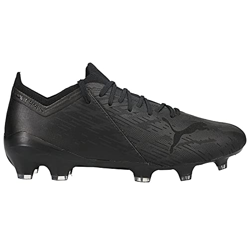 PUMA Mens Ultra 1.2 Lazertouch Firm GroundAg Soccer Cleats - Black - Size 12 M