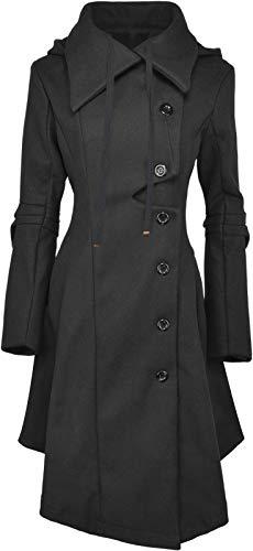 QZUnique Pea Coat Women