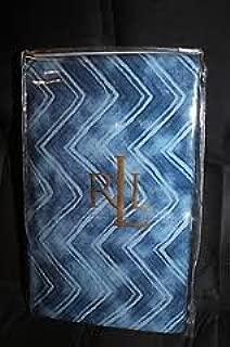 Discontinued Ralph Lauren Indigo Modern King Pillowcases