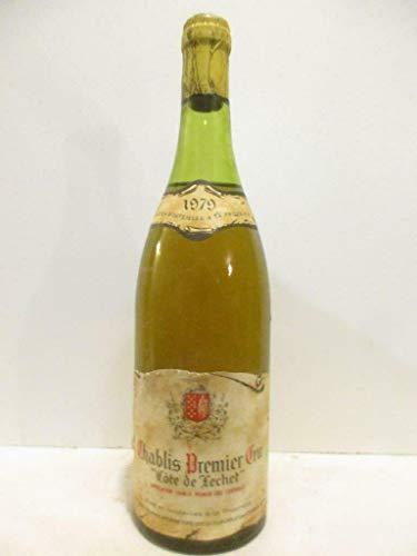 chablis jean-jack fourrey premier cru côte de léchet blanc 1979 - bourgogne