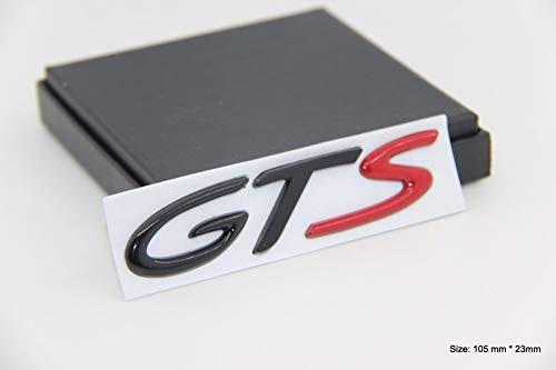 B309 GTS - Adhesivo para coche, diseño de emblema de color rojo