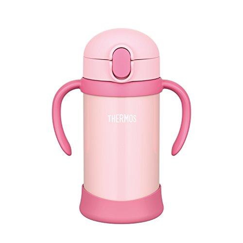 サーモス まほうびんのベビーストローマグ FHV350P ピンク