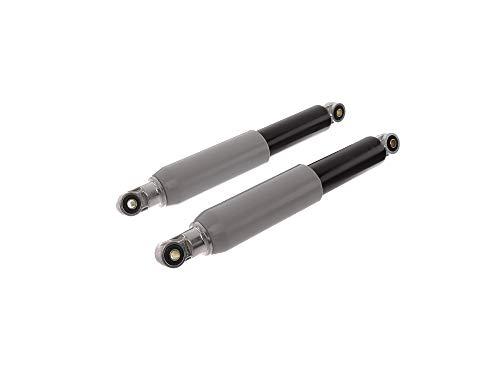 SWH Kit : Plume pieds avant, 307 mm, noir avec douille en plastique gris – sIMSON épervier Hirondelle KR51, SR4–2 Star, SR4–3, SR4–4 Habicht