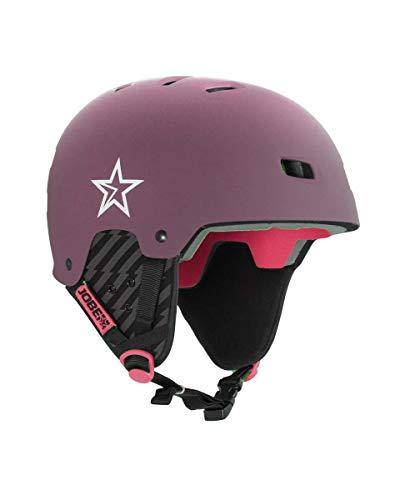 Jobe Base Bordeaux Wakeboard Helm, rot, XS