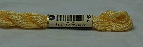 COTTON PERLE DMC 5番刺繍糸 745