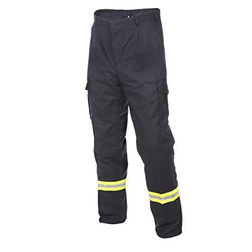 Novotex Bundhose HuPF Teil 2 - Reflex - Baumwolle - Feuerwehrhose - Feuerwehr Gr. 62