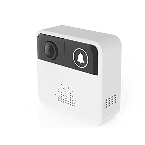 DNAMAZ Portero WiFi Smart Wireless Doorbell con la aplicación de la cámara Control Remoto Vigilancia Super Mini Digital Video Door Bell Viewer automatico (Color : Only Chime)