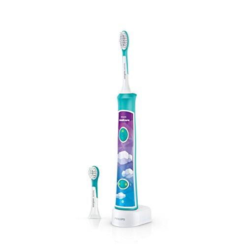 Philips Sonicare For Kids HX6322/04 - Cepillo de dientes eléctrico, multicolor [importado]