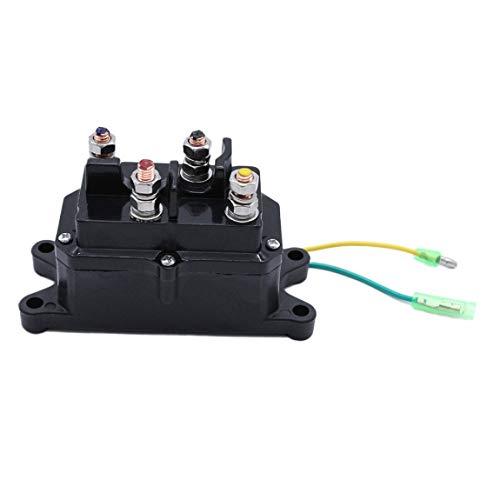 SeniorMar-UK Contactor de relé de cabrestante eléctrico de vehículo Todoterreno para ATV...