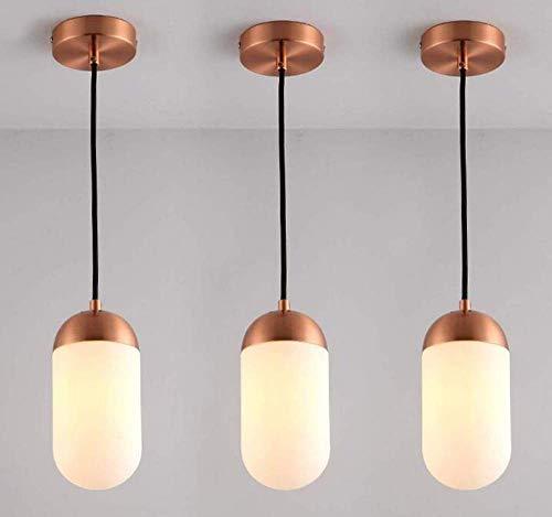 Nachtlicht Wandleuchte Led Lampe Nordischen Stil Einfache Kupfer Kronleuchter Kreative Industrie Retro Wohnzimmer Bar Counter Schlafzimmer Glas Lampe