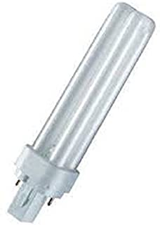Osram Dulux D 840 Lumilux - Bombilla fluorescente compacta (10 unidades, G24d-2, 18 W, luz blanca fría)