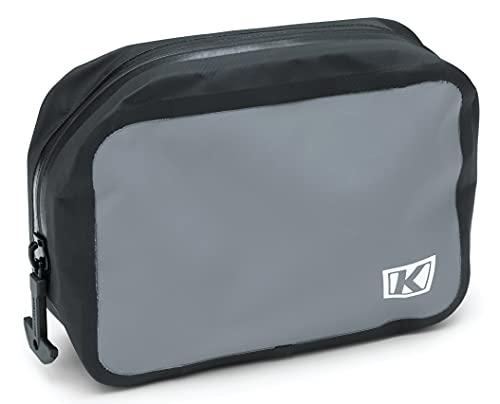 Kuryakyn 5179 Black Mounts to MOLLE Loops on Kuryakyn & Momentum Luggage Tørke Large Removable Dry Pouch: