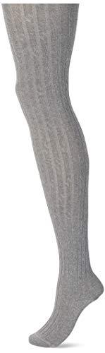 FALKE Damen Clean Allure 125 Jahre Strumpfhose, grau (light grey mel. 3390), 38-40