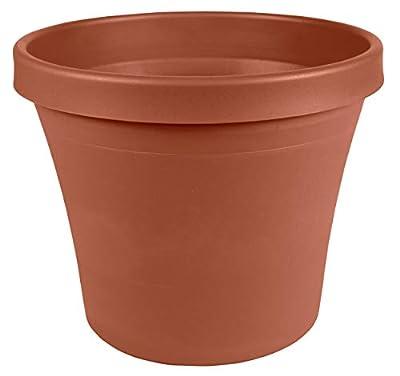 """Bloem TR16908 Terra Pot Planter 16"""" Charcoal"""