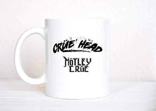 N\A Crue Head Motley Crue Mug/Kickstart My Heart/Band Mug/Motley Crue/Metal/Heavy Metal/Taza de café/Rock/Nikki Sixx/Tommy Lee