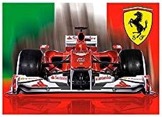 Sportwear PRE32025090001 Ferrari Flag Frontal Car Scuderia