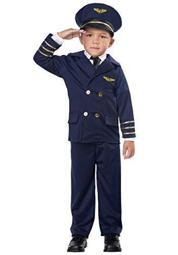 Toddler Pint-Sized Pilot Aviator Costume size 3T-4T