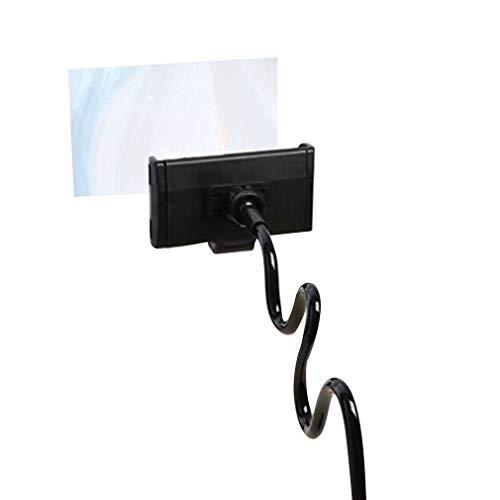 Kinshops Mobile Screen Amplifier 12 Inch Mobile Phone Screen Amplifier Creative Bedside Desktop Live Broadcast Mobile Stand