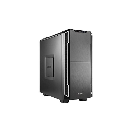 be quiet! ATX PC Gehäuse Silent Base 600 Silver BG007 Silber