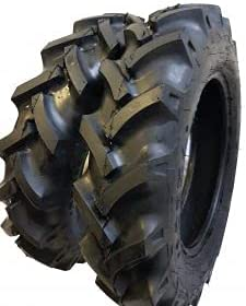 6.00-16, 6.00x16 (2 TIRES + 2 TUBES) 8 PLY ROAD CREW R1 KNK50 Fa