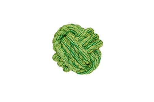 Hunde Knotenball aus festem Baumwoll Tau groß
