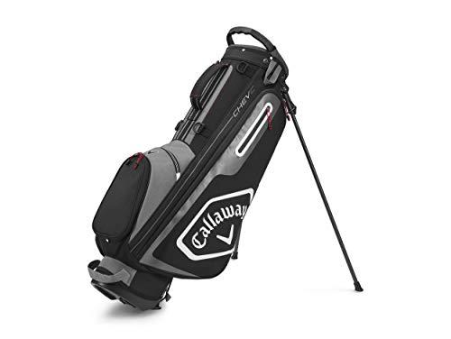 Callaway Golf Chev C Standbag 2020, Unisex, 2020 Callaway Chev C Standtasche, Anthrazit/Schwarz, 5120066, Charcoal/schwarz, Einheitsgröße