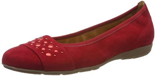 Gabor Shoes Gabor Casual, Ballerines Femme, Rouge (Rubin 15),35.5 EU