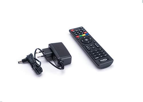 Xoro HRT 8729 Hybrid DVB-C/DVB-T/T2 Receiver (HDTV H.265, kartenloses Irdeto-Zugangssystem, inkl. 3 Monate Freenet TV, Kabelfernsehen, Mediaplayer, HDMI, USB 2.0, 12V) schwarz