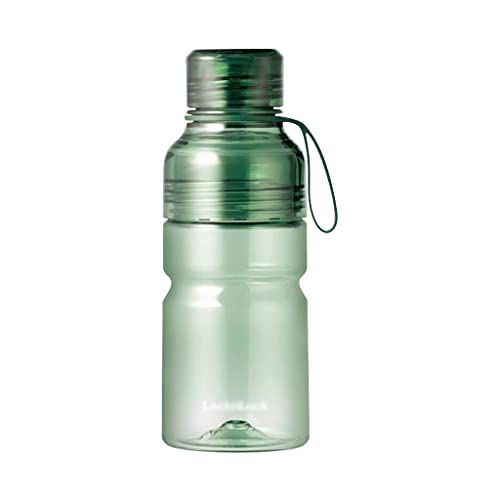 Garrafa Agua Botella De Agua Al Aire Libre Deportes Botella De Agua Plástico Botellas De Agua Jarra Para Deportes Al Aire Libre Oficina En Funcionamiento Botella ( Capacity : 520ml , Color : Green )