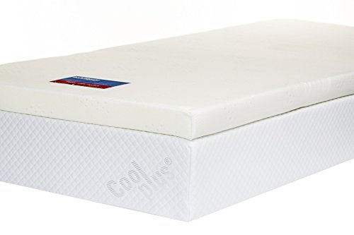 Southern Foam Memory Foam Mattress Topper with Cover,