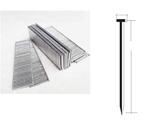 1000 x 25 mm Nägel für Tacker elektrisch und pneumatisch Parkside Typ 47 2 mm dick