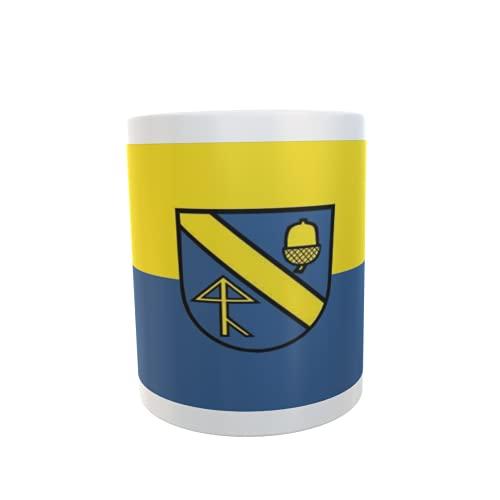 U24 Tasse Kaffeebecher Mug Cup Flagge Aichwald