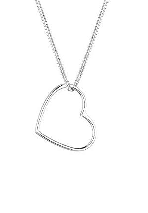 Elli Collares Colgante Corazón en plata de ley 925