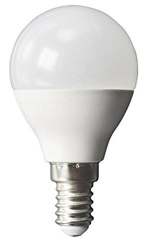 McShine - Bombilla LED (E14, 8 W, 600 lm, luz blanca neutra, 8 W, 3000 K)