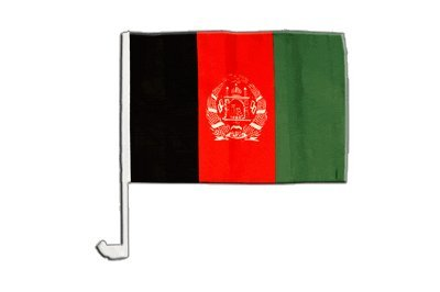 Drapeau de voiture Afghanistan - 30 x 40 cm