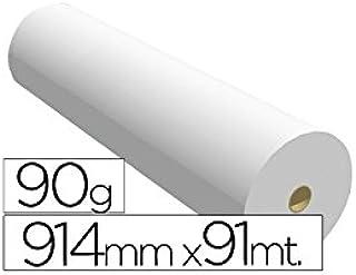 Navigator 914X91 90 - Papel reprografía para plotter, 914 mm x 91 m: Amazon.es: Oficina y papelería
