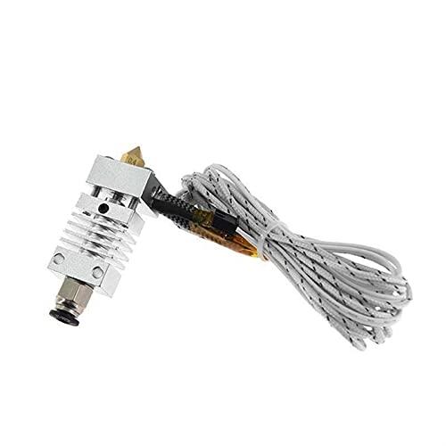 XBaofu 1pc Hotend Extruder Long Distance Titanlegierung Thermische Wärmereduzierung Throat for Creality CR-10 3D-Drucker Micro Swiss (Größe : 12V 50W)