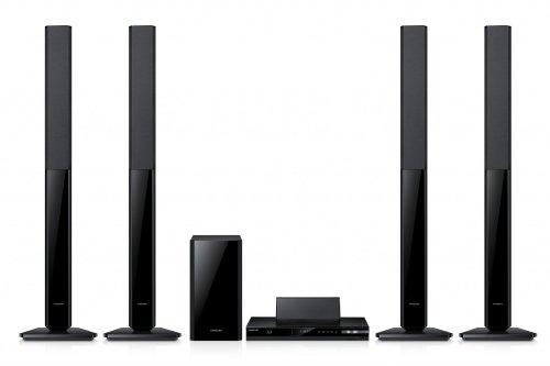 Samsung HT-F4550 3D 5.1 Blu-ray Heimkinoanlage (500 Watt, DLNA, FM-/RDS-Tuner, HDMI-CEC, ARC)
