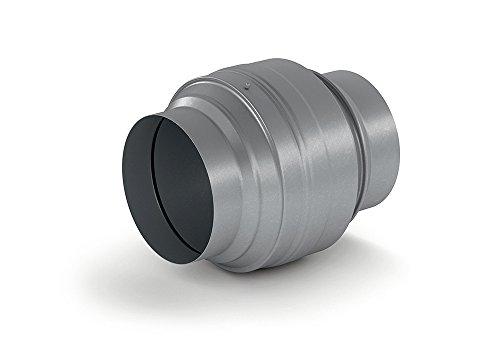 NABER Absperrvorrichtung / Brandschutzklappe 150 / verzinkter Stahl / 150er Rundkanal (4061040)