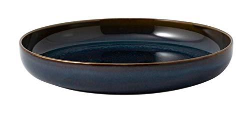 Villeroy & Boch 1951682700 Crafted Denim Tiefer Teller 21,5 x 21,5 x 3,5 cm (1 Stück)