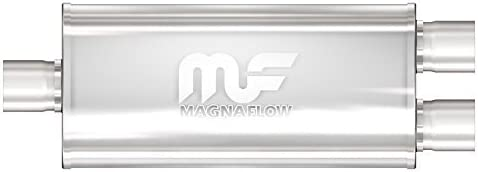 Magnaflow 12158 Satin Inexpensive Stainless Steel Oval Magnaf At the price of surprise 2.5 by Muffler