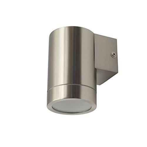 Grafner® Edelstahl Außenleuchte Wandlampe Down Aussenlampe 1x GU10 IP44