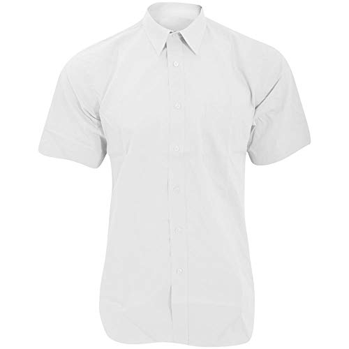 Fruit of the Loom SS100M, Chemise Business Homme, Blanc, Xx-large (taille Fabricant: Xx-large)
