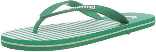 hummel Hml Flip Flop, Scarpe da Spiaggia e Piscina Unisex-Adulto, Verde (Pepper Green 6313), 41 EU