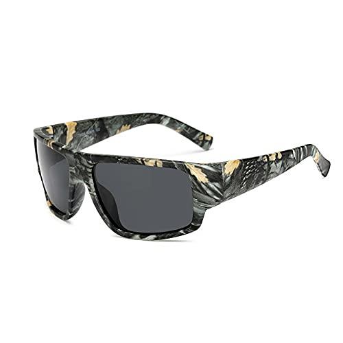 yui Gafas de sol polarizadas para hombre y mujer, gafas de sol de diseño de conducción, gafas deportivas para hombre conductor, gafas de leopardo, gafas de bloqueo del sol (lentes de color: 1028 c1)