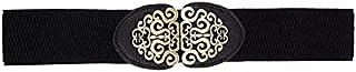 YouBella Jewellery Celebrity Inspired Adjustable Kamarband Waist Belt for Women/Girls (YB_Belt_31) (Black), Large